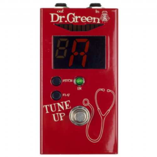 Dr. Green Tune Up Tuner Dr Green Guitar Bass Tuning Pedal
